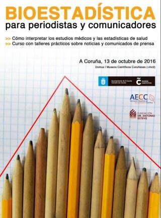 Xornada de bioestadística para xornalistas e comunicadores en A Coruña