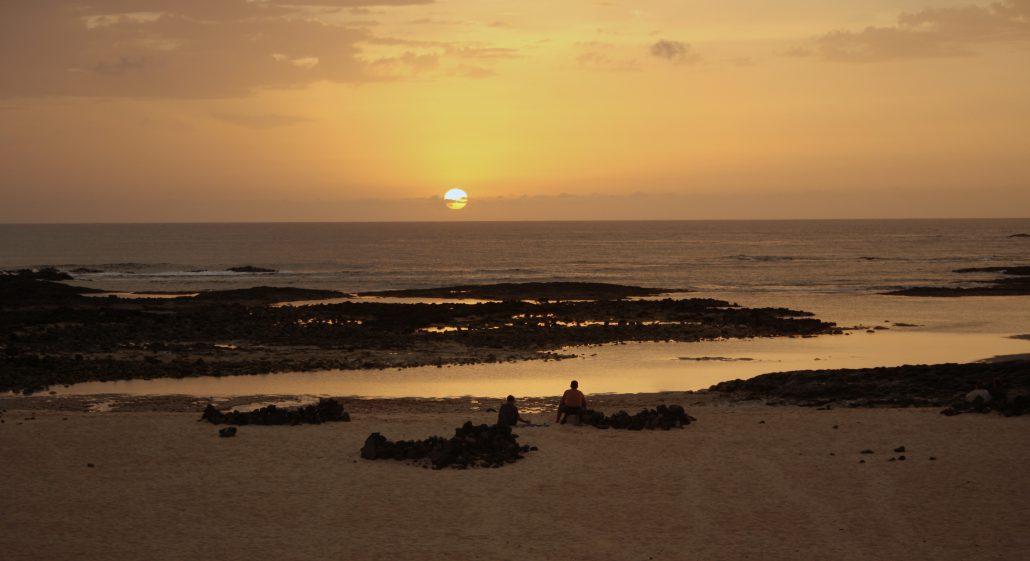 La isla de arena