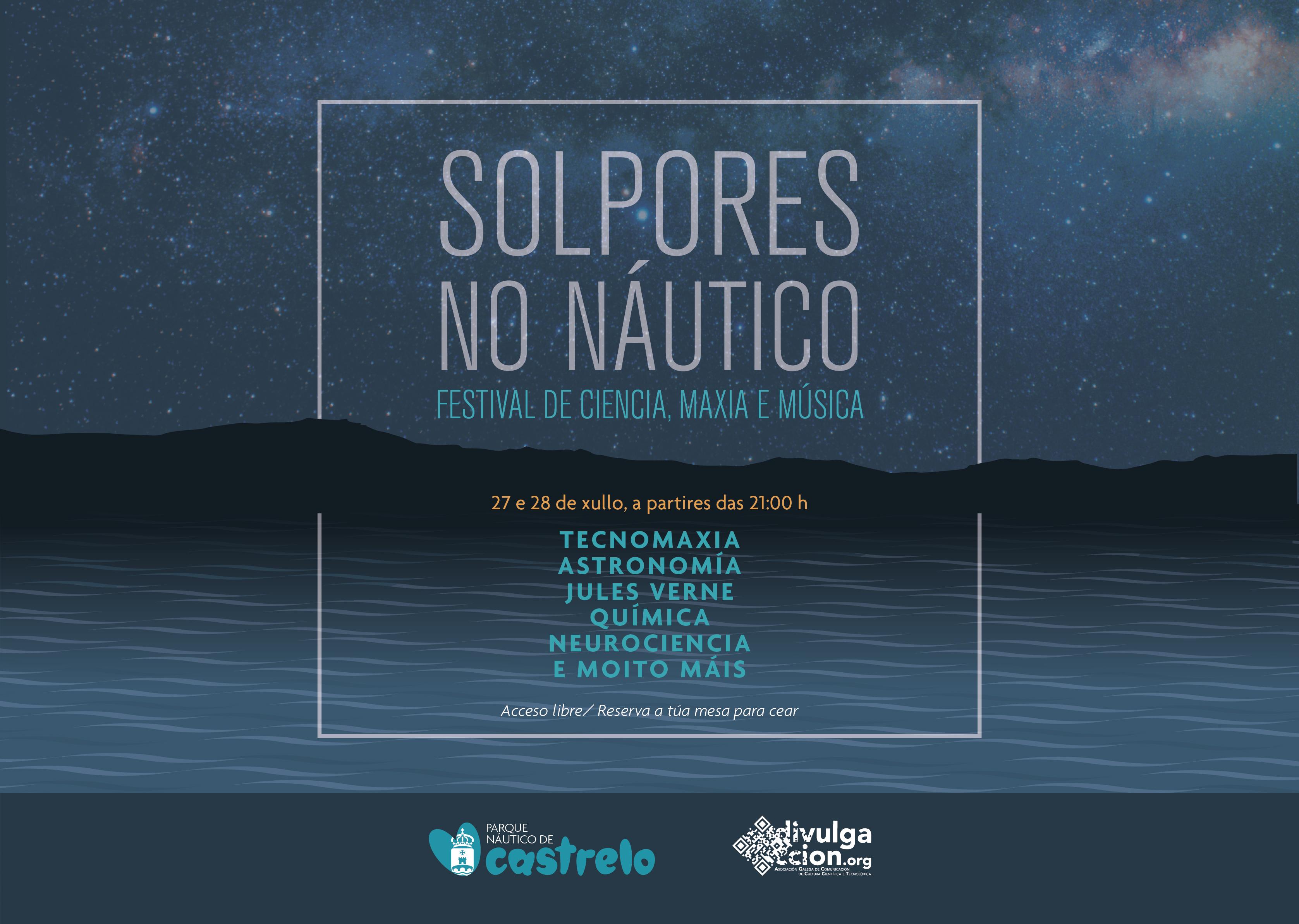 Solpores no Náutico: Festival de ciencia, maxia e música