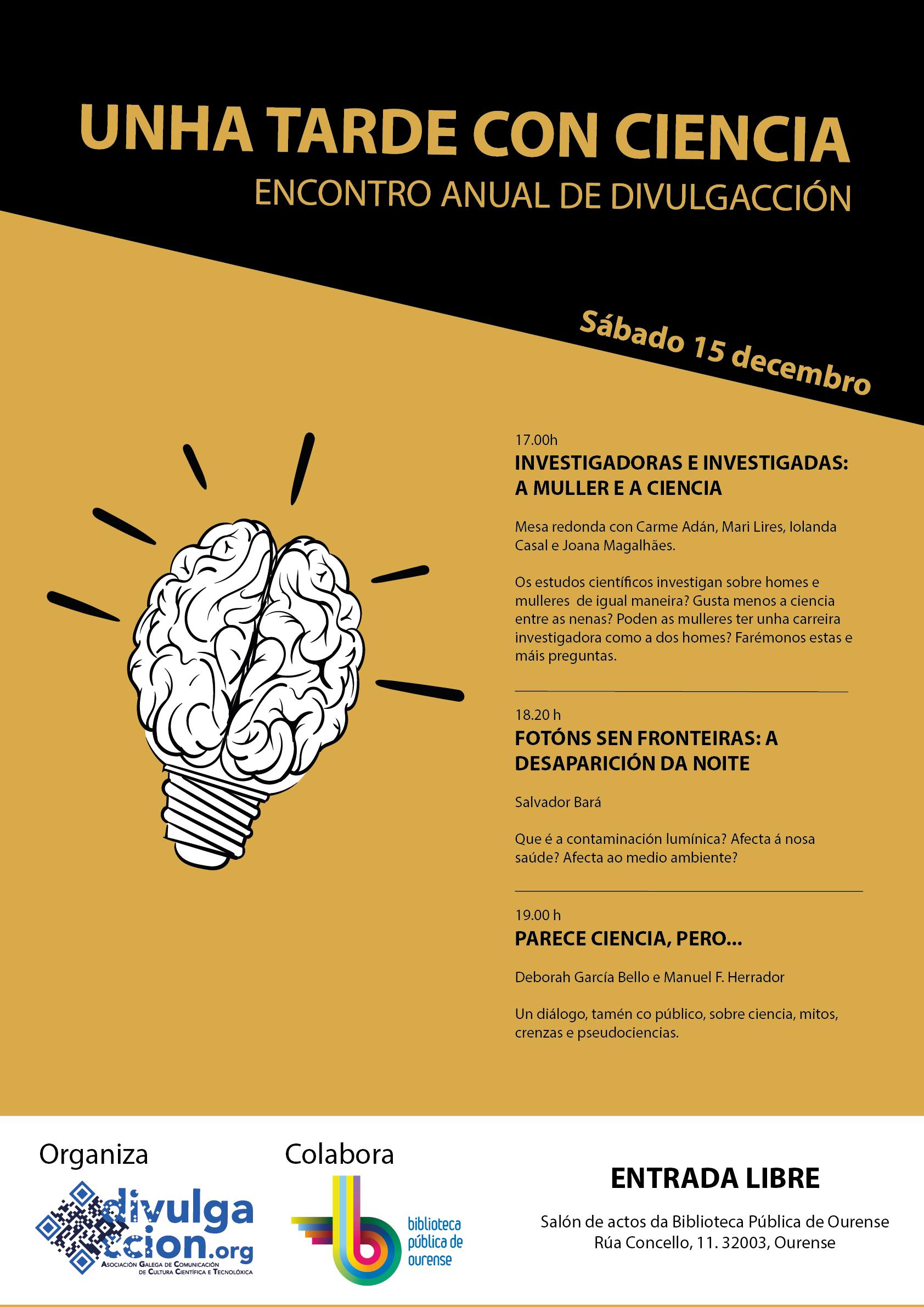 Encontro Anual de Divulgacción 2018: Vémonos en Ourense!