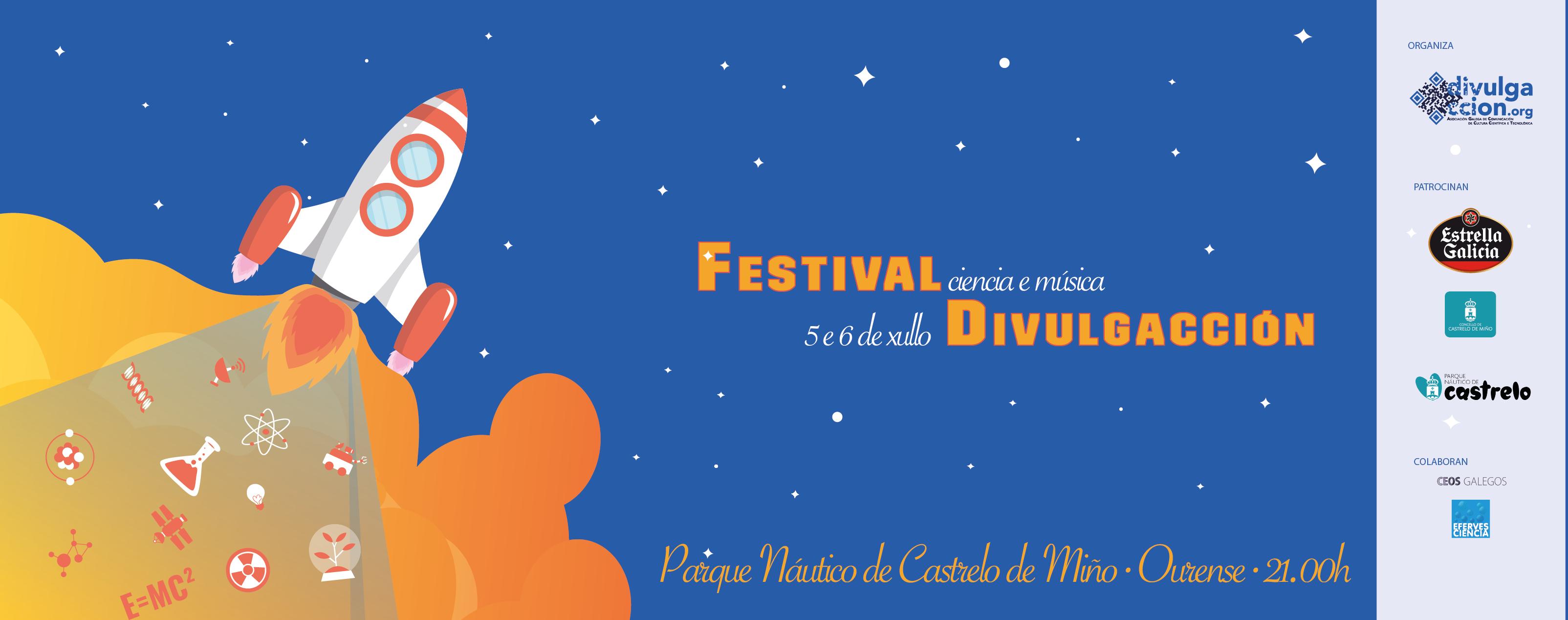 Chega o primeiro Festival de DivulgAcción!